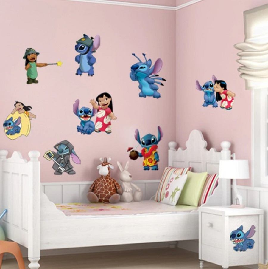 Wallpaper Dinding Stitch