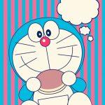 Wallpaper Doraemon dan dorayaki