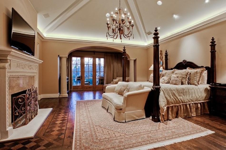 Desain Kamar Tidur Rumah Mewah