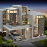 Gambar Denah Rumah Mewah