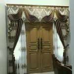 Gorden pintu tirai jendela gorden untuk kamar gorden hordeng korden