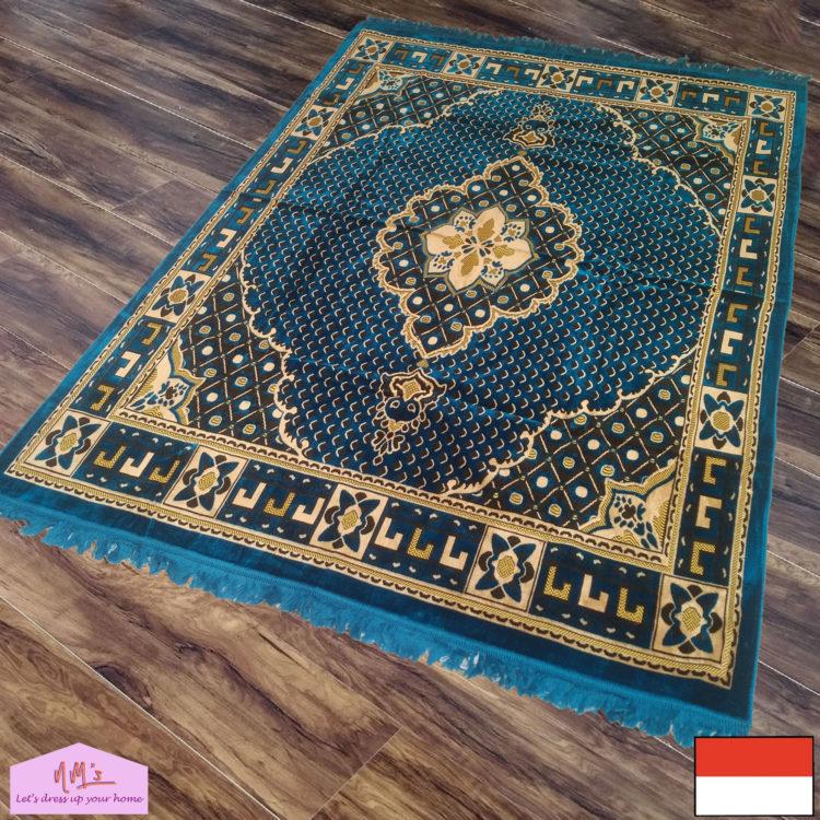 Karpet permadani motif bunga