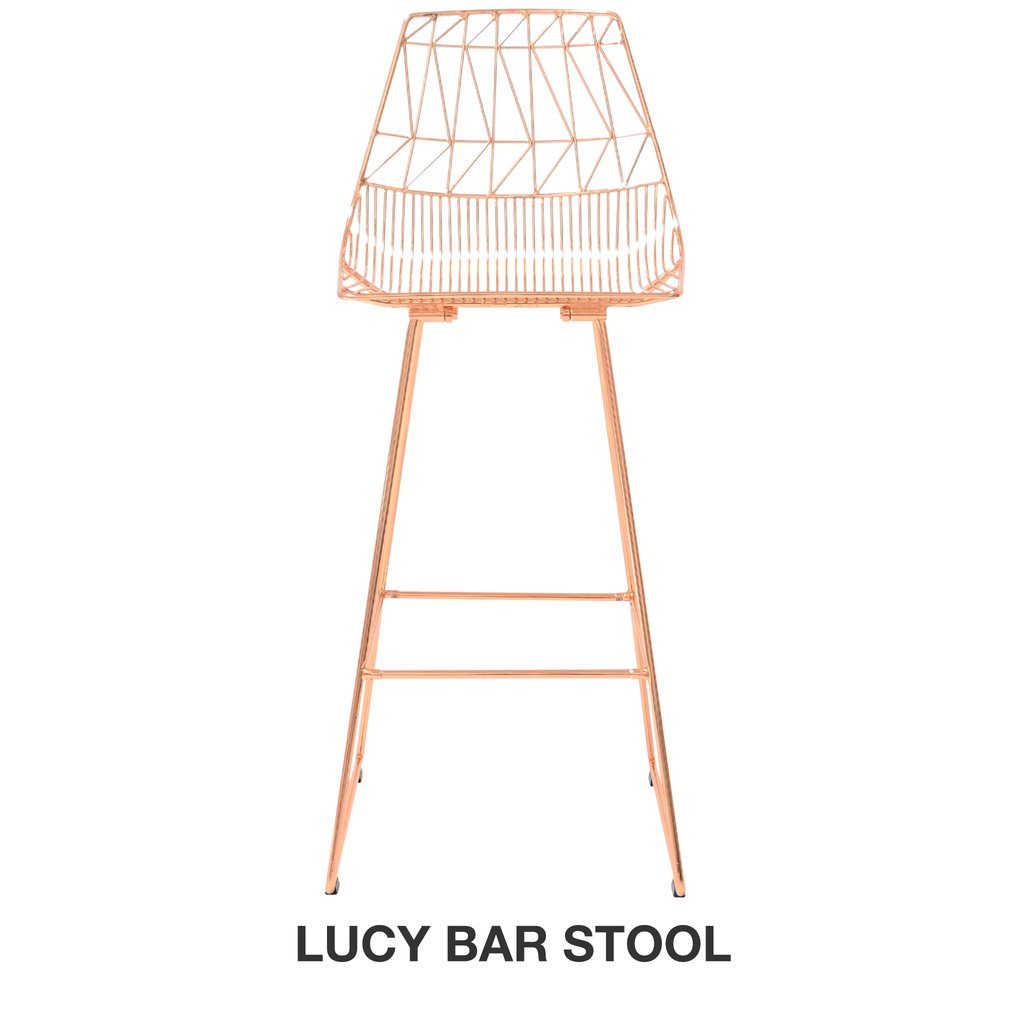 Lucy Adjustable Height Stool