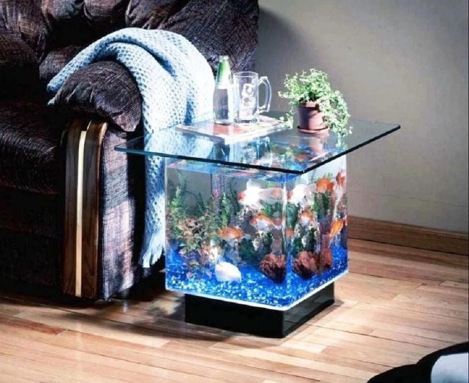 Meja Aquarium Mini
