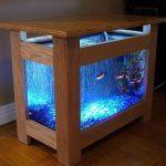 Meja aquarium kayu minimalis 2