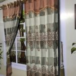 Promo Super Murah Gorden Blackout Motif Cantik Desain Terbaru Warna Abu - 8683 Salem
