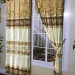 Promo gorden minimalis terbaru warna gold motif cantik elegan