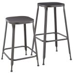 Weldon Backless Bar Stool