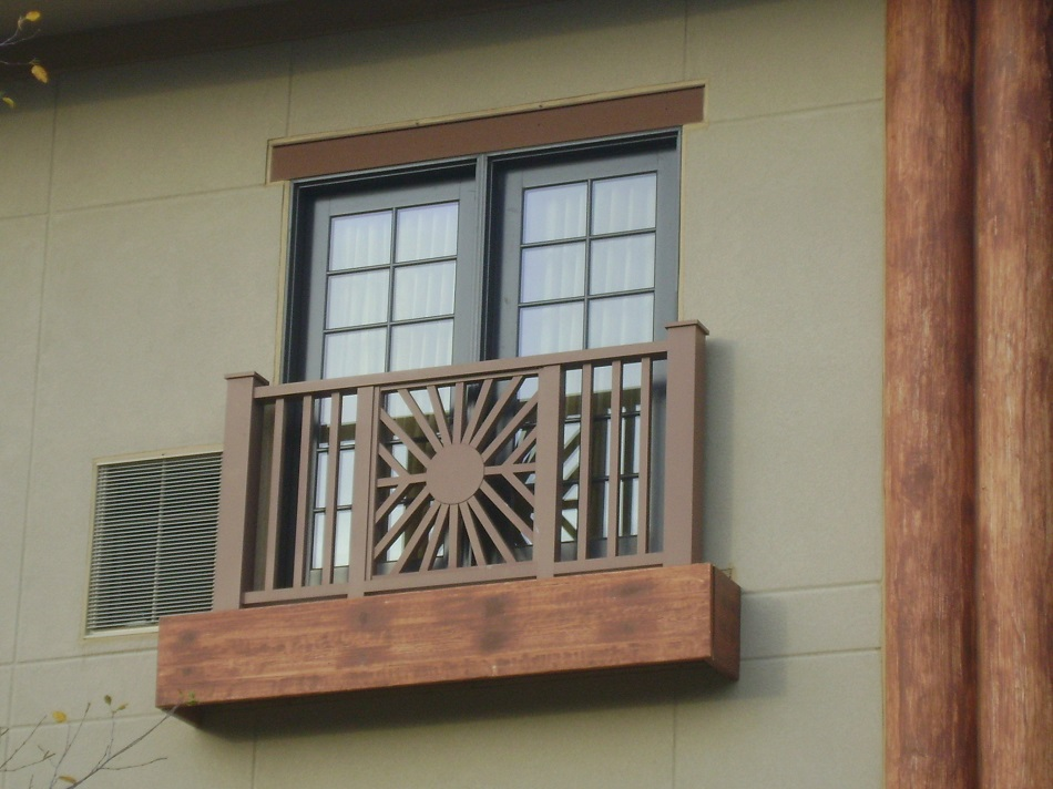 Balcony Window Design