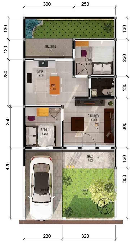 510 Koleksi Gambar Rumah Type 36 HD Terbaru