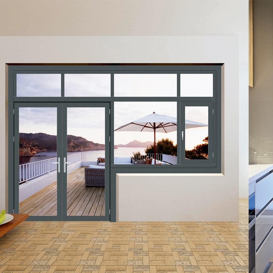 Desain Jendela dan Pintu Aluminium