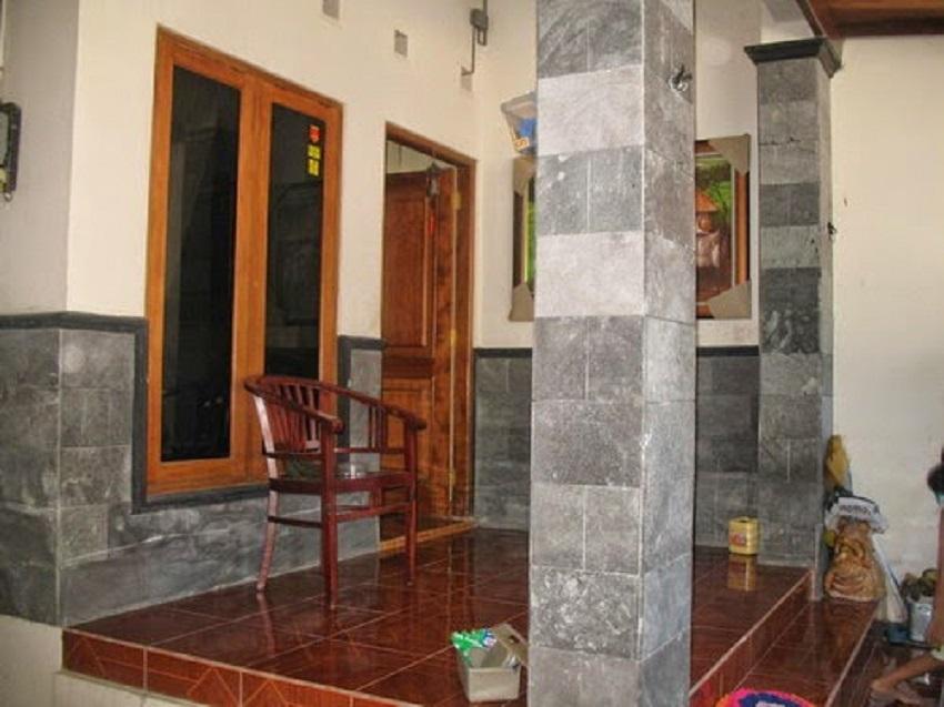 Desain Keramik Dinding Teras Rumah