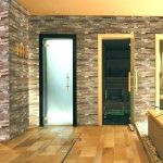 Keramik Dinding Batu Alam Teras Rumah