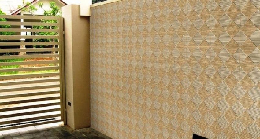 Keramik Dinding Teras Depan Rumah Terbaru