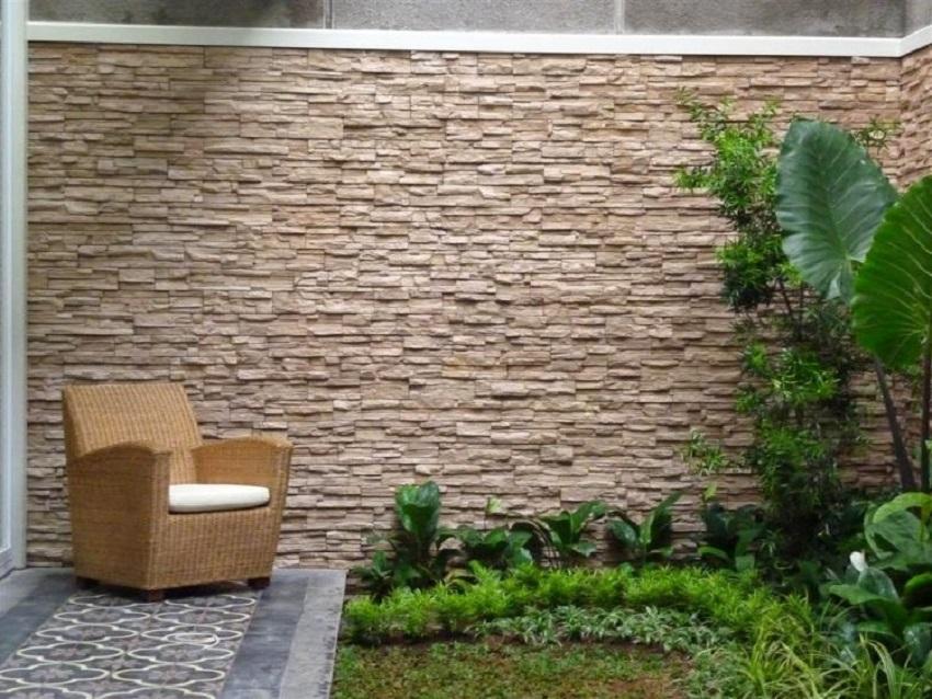 Keramik Dinding Teras Depan