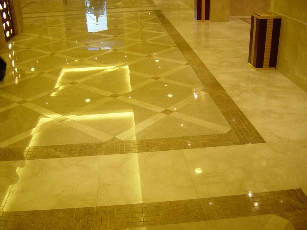 Lantai Granit Kuning
