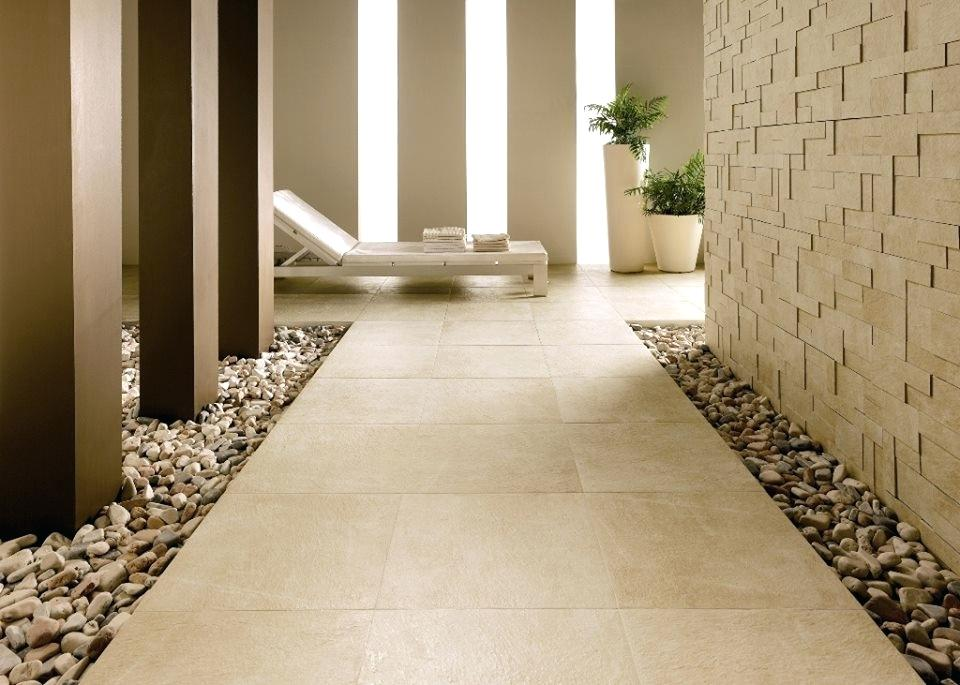 Lantai Granit Motif Modern