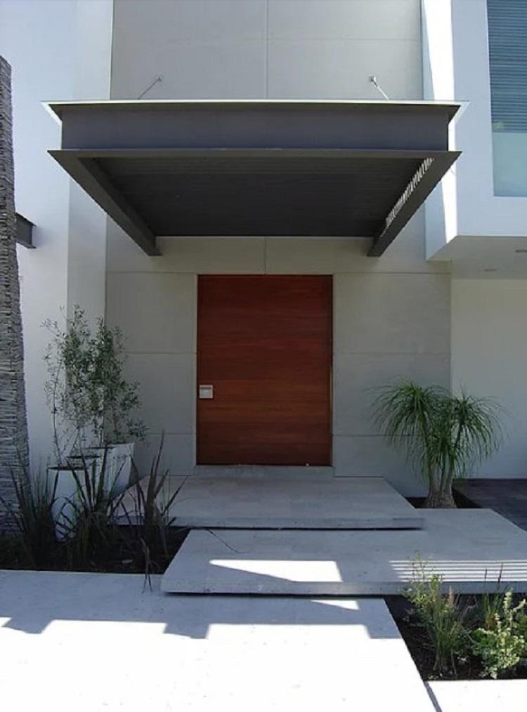 Lantai granit dengan Beton
