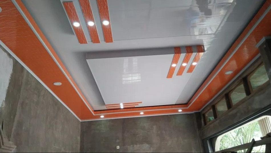 Model plafon PVC unik