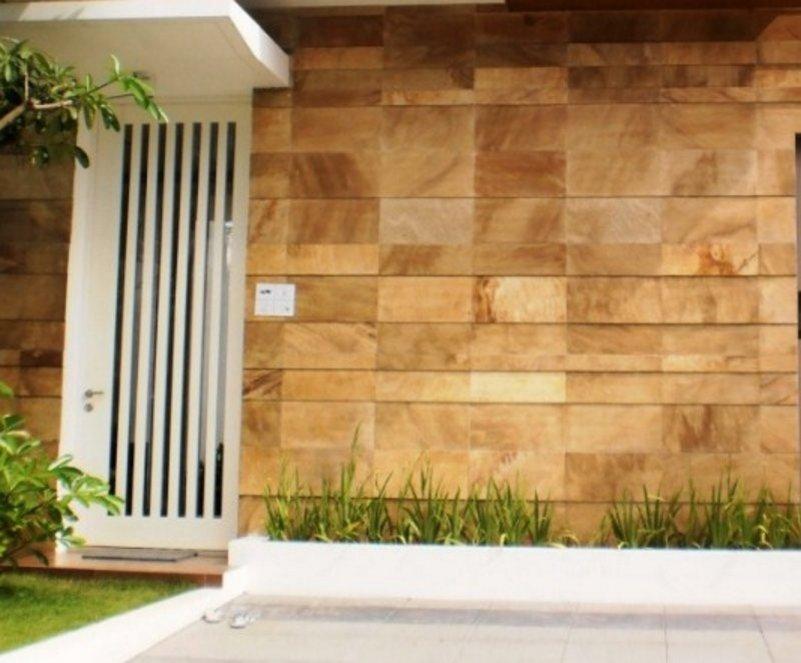 Motif Keramik Dinding Depan Rumah