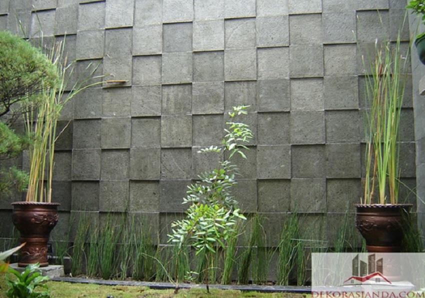 Motif Keramik Dinding Teras Timbul