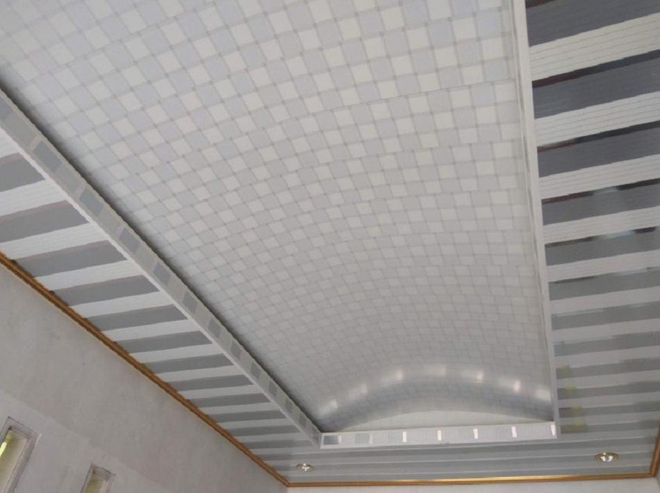Plafon PVC motif