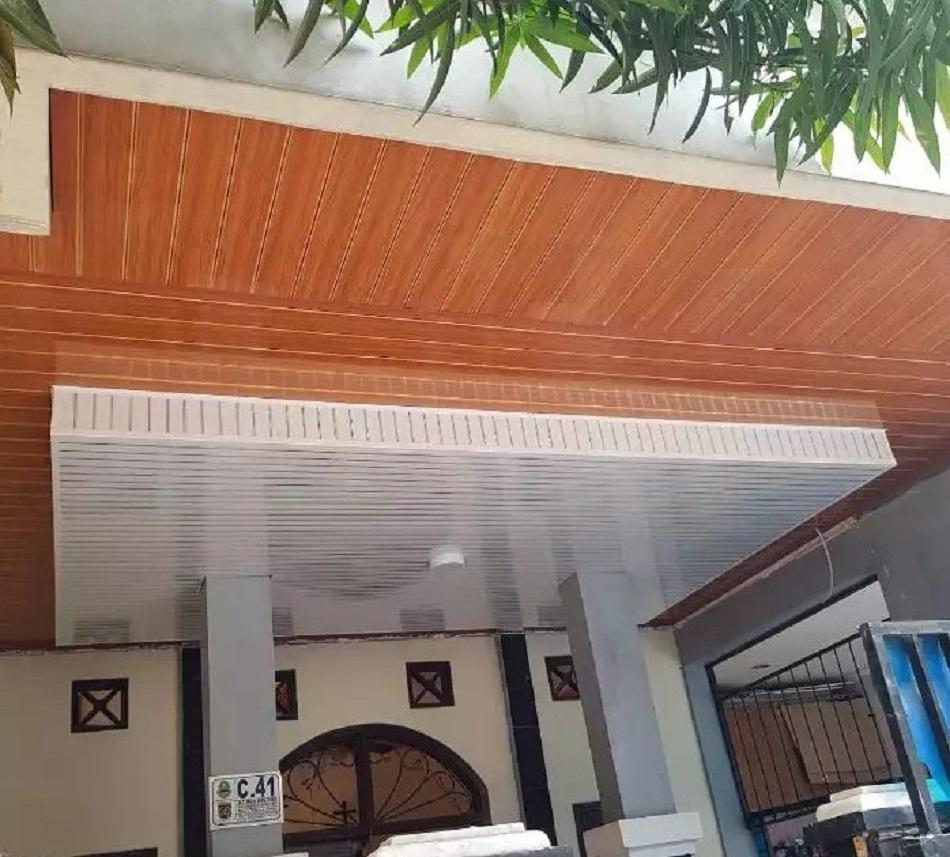 Plafon PVC teras