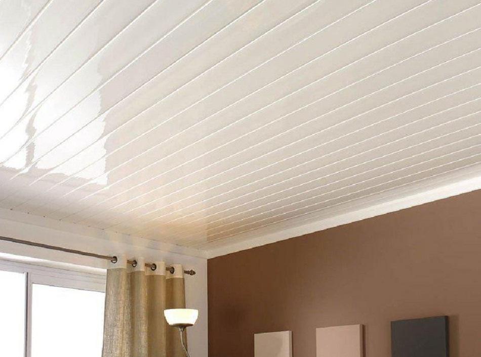 Plafon PVC warna putih