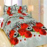 Sprei Bedcover Bonita 3D Motif Bunga bunga