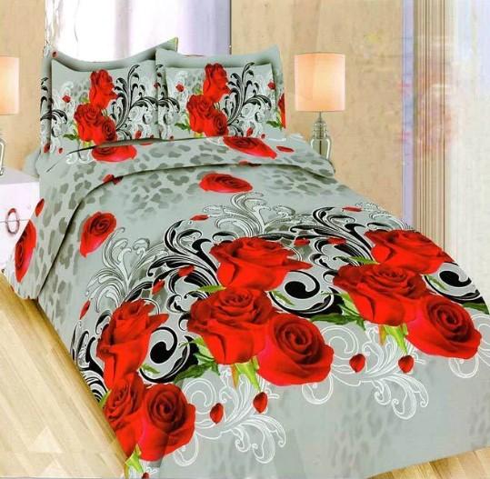 Sprei Bedcover Bonita 3D Motif Bunga-bunga