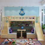 Bed Bertingkat Anak Dengan Sentuhan Modern