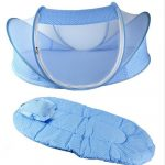 Desain Tempat Tidur Bayi Kelambu