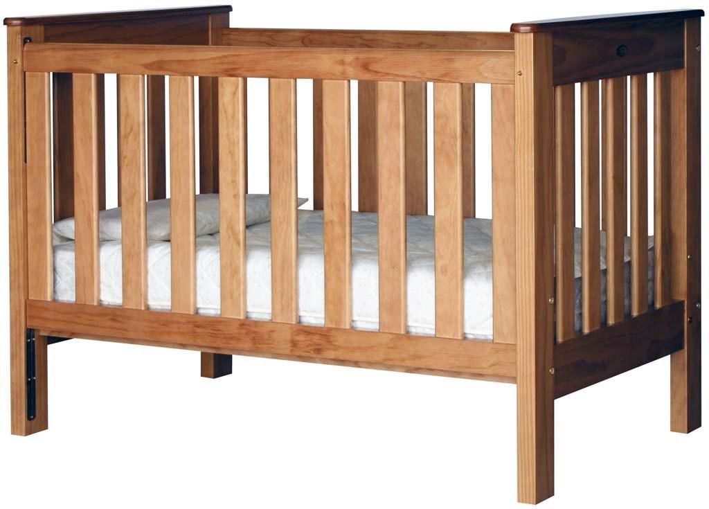 Model Tempat Tidur Bayi Kayu Modern