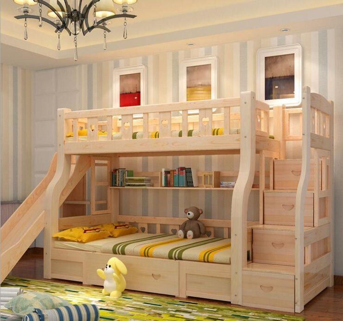 Bed Bertingkat Kayu Style Playground