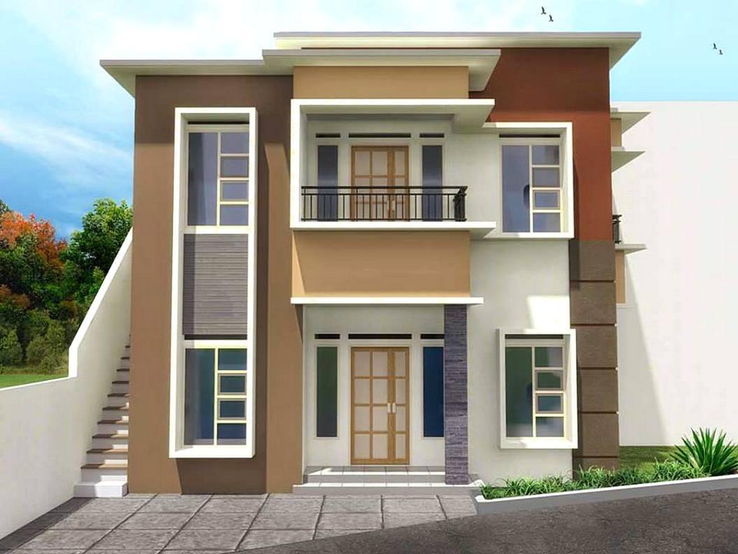 √ 60 Desain Rumah Minimalis 2 Lantai Yang Unik & Kreatif