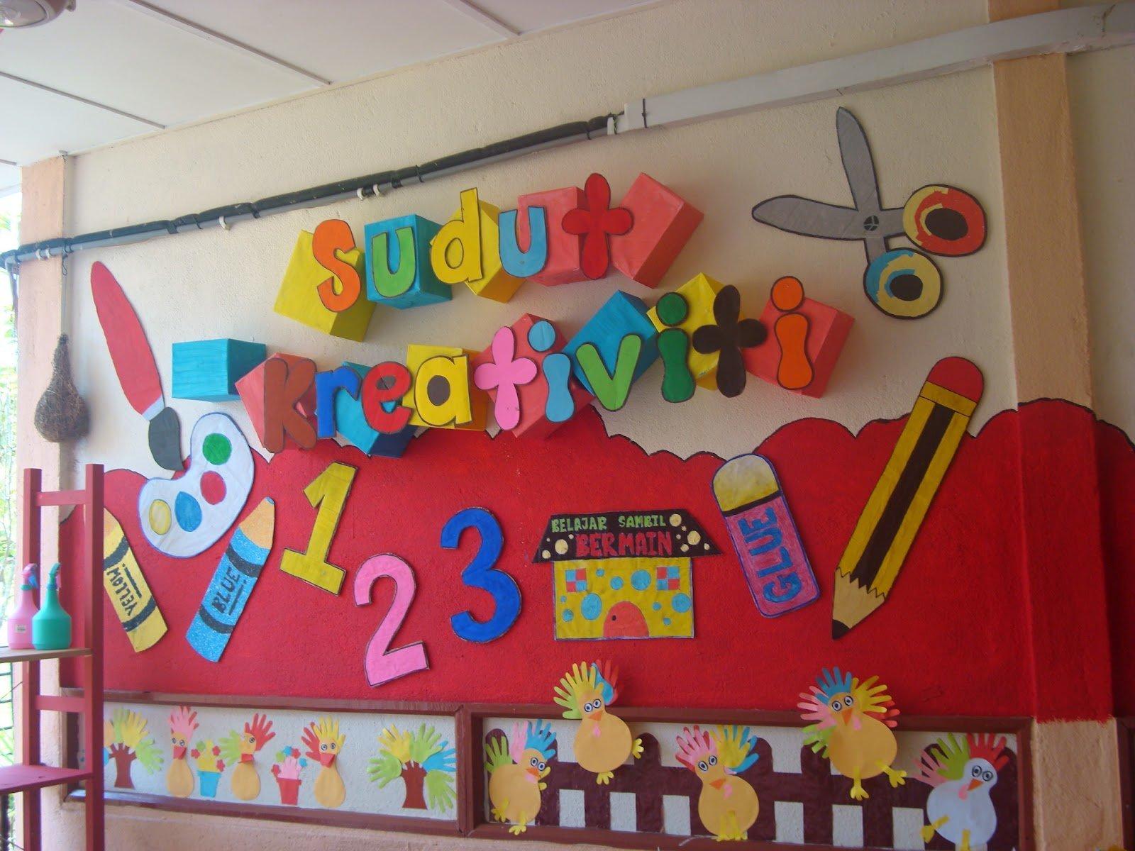 Desain Hiasan dinding Kelas