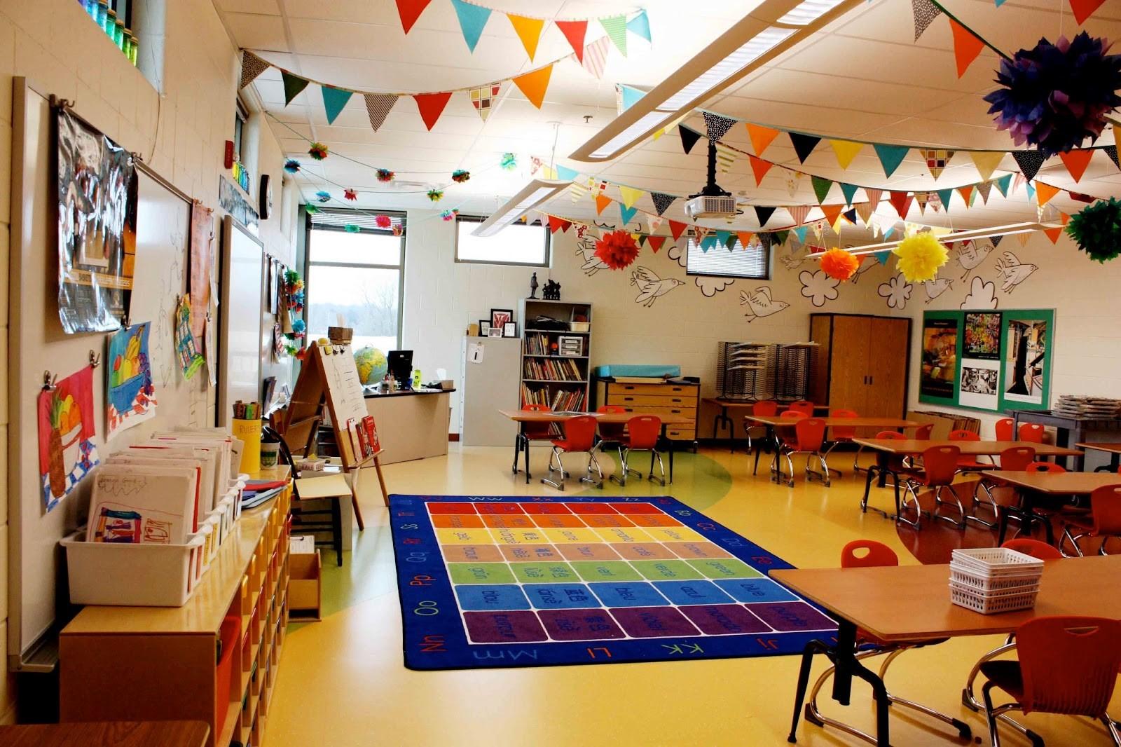 Hiasan Atap Ruangan Kelas