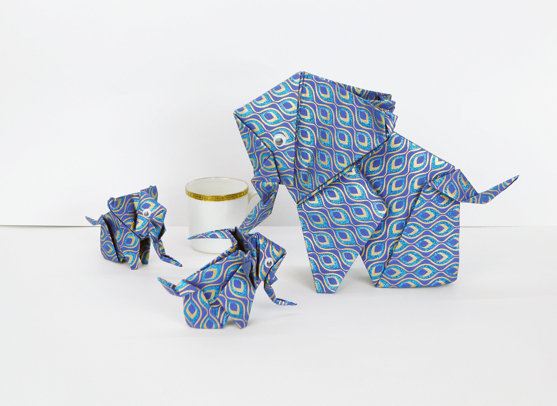 Miniatur Binatang dari Kertas Origami