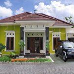 Warna Cat Rumah Bagian Luar Hijau