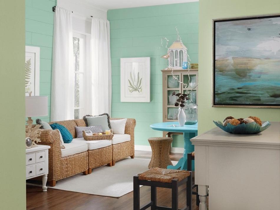 Warna Cat Ruang Tamu Yang Elegan